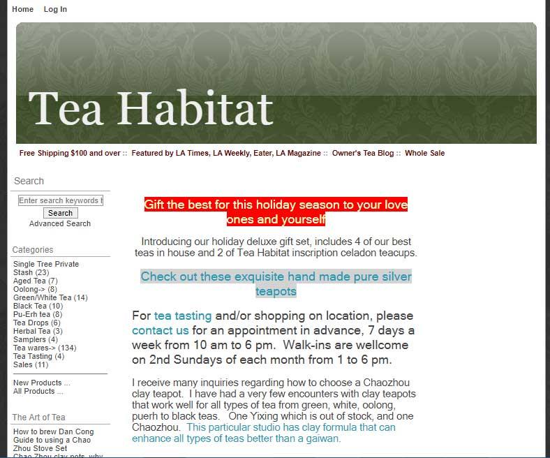 Tea Habitat
