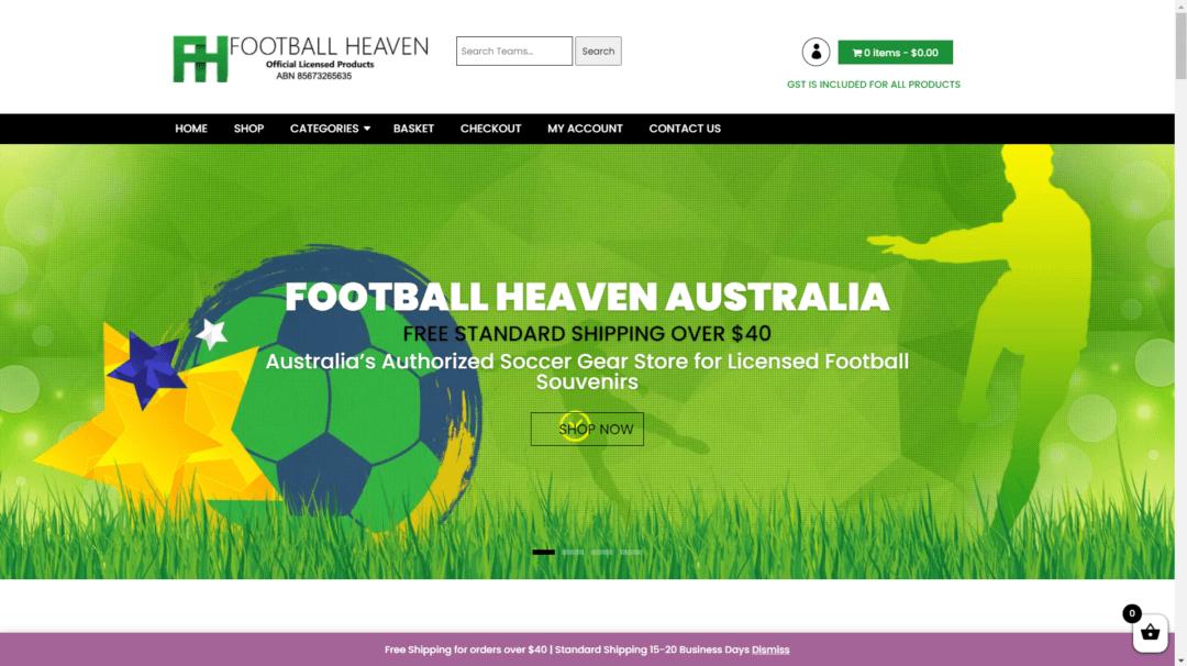 Footballheaven.com.au